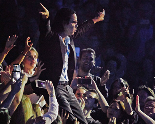 NICK CAVE AND THE BAD SEEDS LIVE IN COPENHAGEN