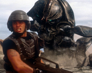 DARK SKIES 18: STARSHIP TROOPERS