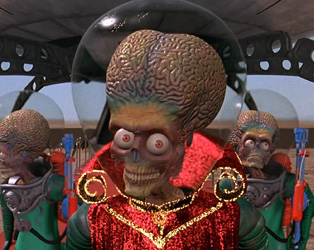 DARK SKIES 18: MARS ATTACKS!