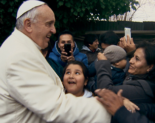 FEAST YOUR EYES: POPE FRANCIS: A MAN OF HIS WORD